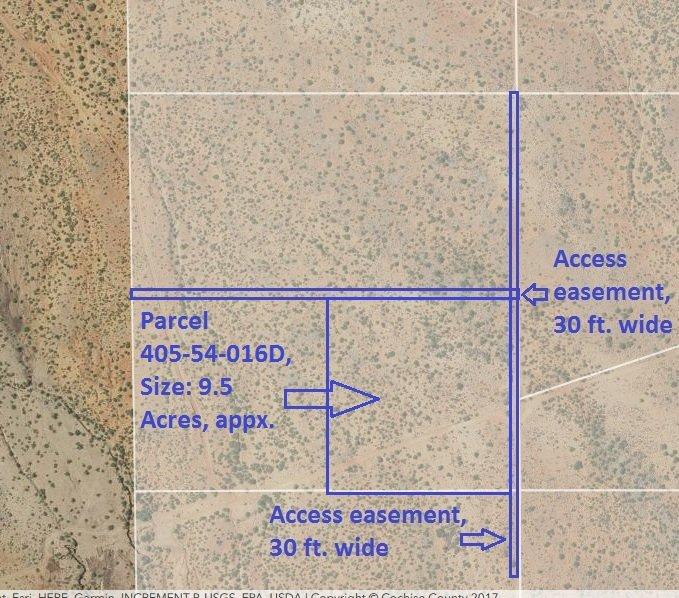 Map, Parcel 405-54-016D