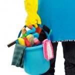 Prepare Your Inherited House For Sale - Cleaning supplies