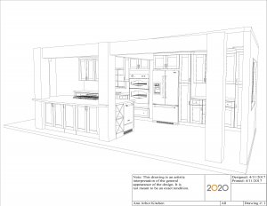 3602 Ann Arbor Kitchen Perspective