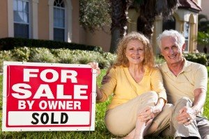 We buy houses fast La Quinta Senior couple with house sold.