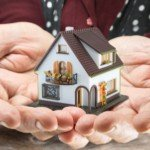 What happens when you inherit a house | model home in hands