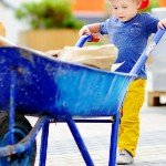 Prepare Your Inherited House For Sale | kid with wheelbarrow