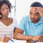 behind in my mortgage payments | stressed black couple
