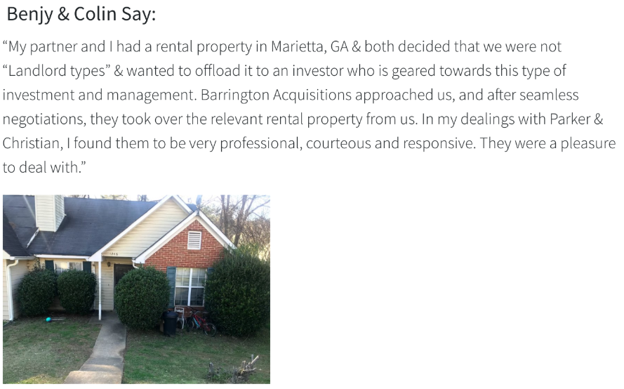 we buy rental houses marietta, ga