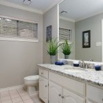 clean bathroom in house for sale