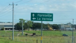 HWy 181 Floresville n La Vernia tx Directional sign - Everything you need to know before moving to Floresville TX