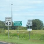 Floresville Tx - Hwy 181 - Wilson county line