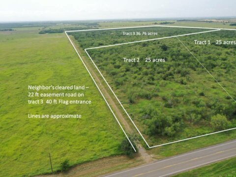 Tract 3 FM 1347 Stockdale TX 36.76 acres