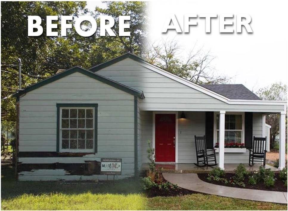 Our Real estate group can provide Fixer upper properties