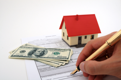 buying a house for the first time, signing