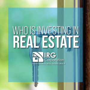 Who is INVESTING in Real Estate?!