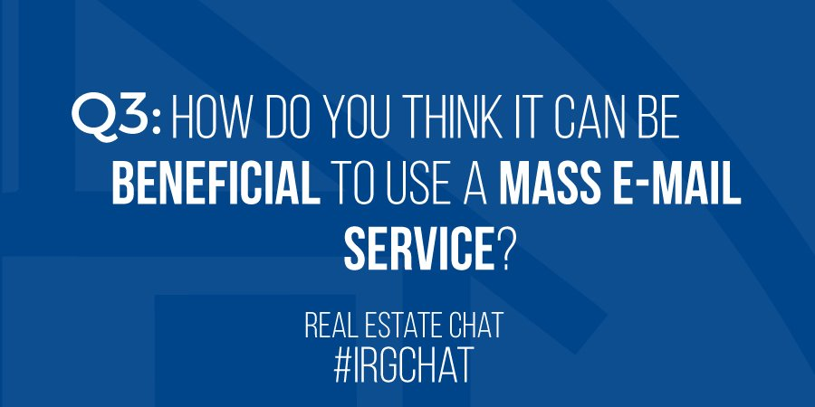 Q3: How do you think it can be beneficial to use a mass E-mail service?