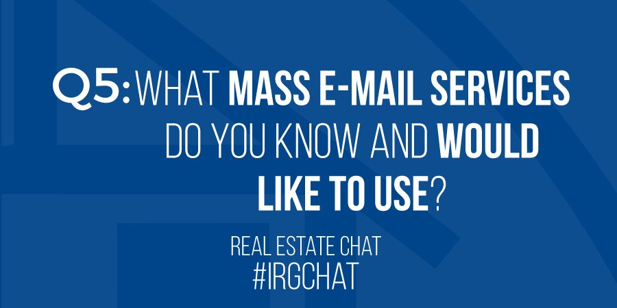 Q5: What mass E-mail services do you know and would like to use?
