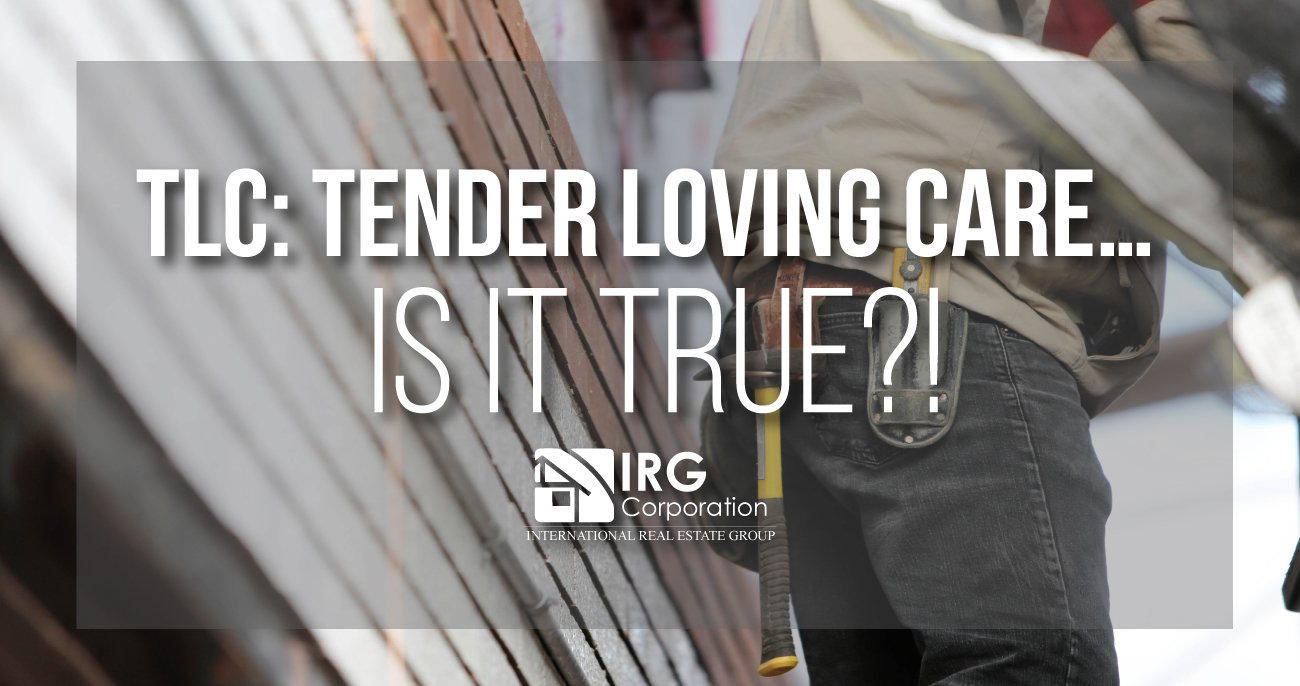 TLC: Tender Loving Care… is it true?!
