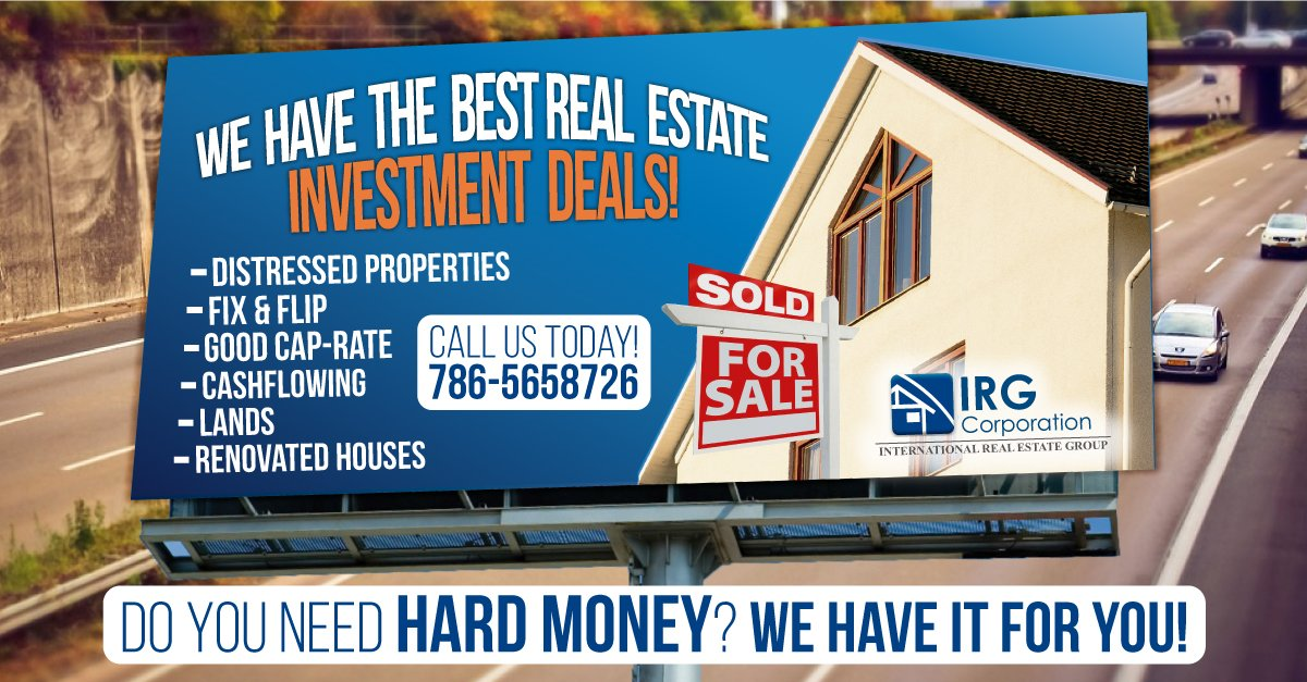 We have the best investment deal!