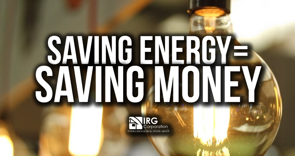 Saving energy = saving money