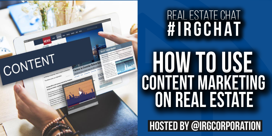 How to use Content Marketing on Real Estate?