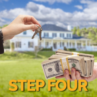 We buy homes process step four
