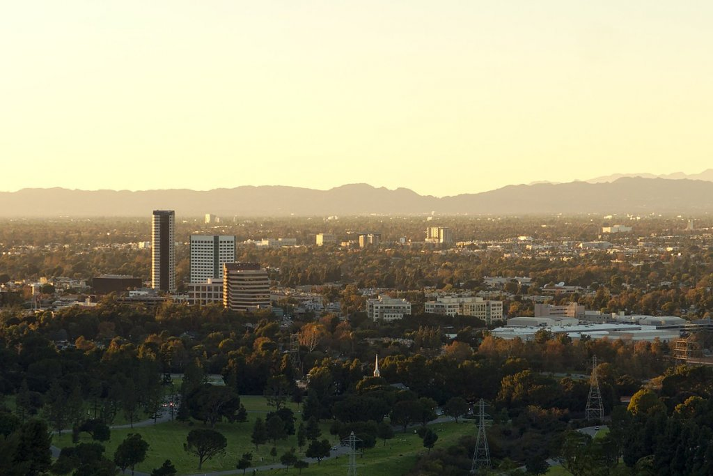 cityscape photo of Burbank California