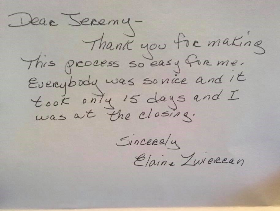 Sell My House As-Is Newmarket NH: Elaine Z Testimonial