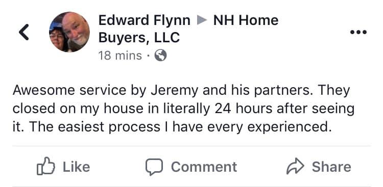 Edward Flynn Testimonial