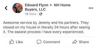 NH Homebuyers LLC Edward Flynn Testimony