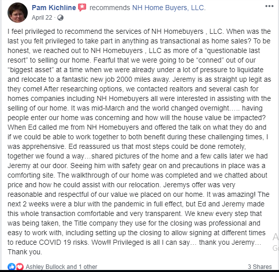 Pam Kichline Testimonial data-id=
