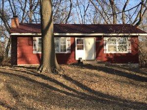 Bought Red Kansas House