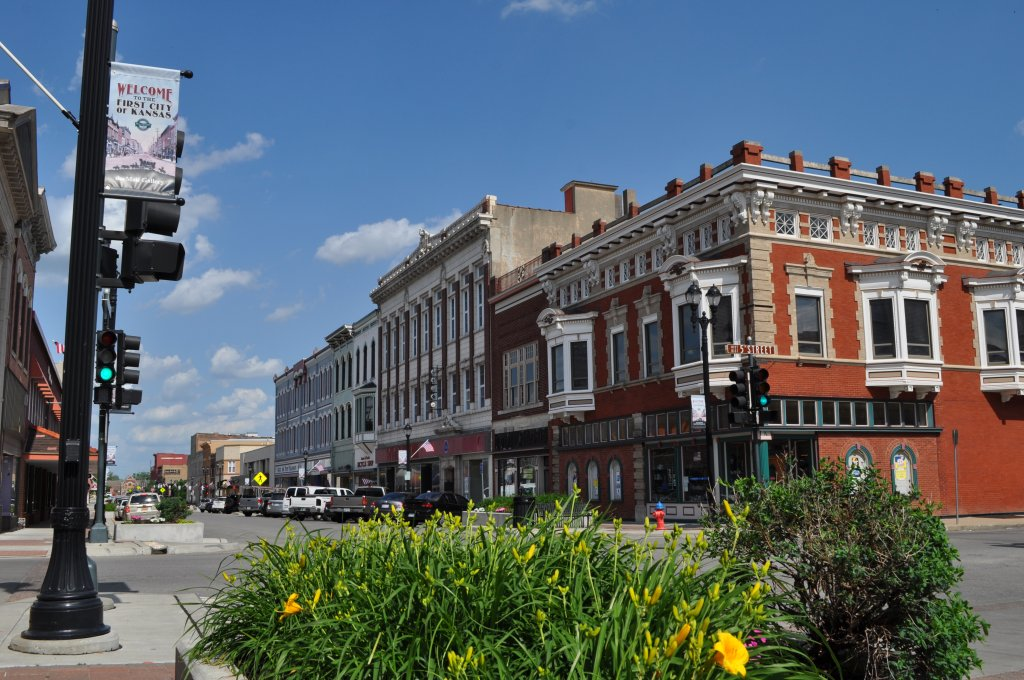 Downtown Leavenworth on the sell your house fast in Leavenworth Kansas page