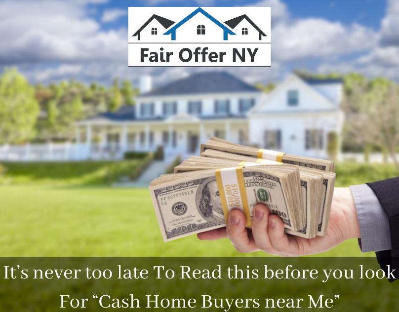 Cash Home Buyers near Me