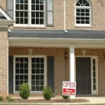 house selling tips | home front view open house sign