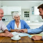 ways to tell real estate agents and investors apart | old couple meeting