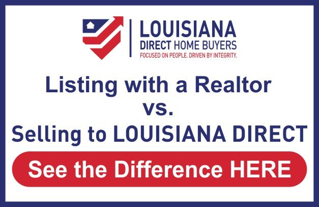 We buy houses New Orleans La | Compare listing with an agent vs. selling to an investor for cash