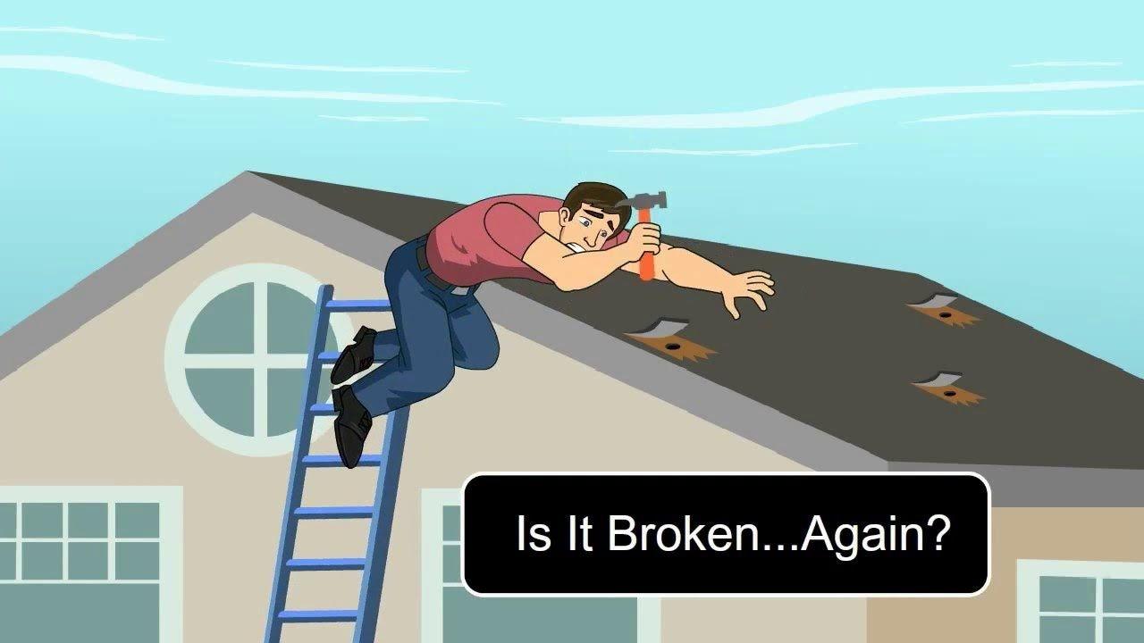 no repairs