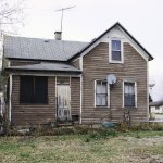 A Damaged House For Sale In Milwaukee