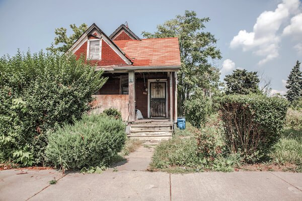 a house in Milwaukee under foreclosure for sale as-is