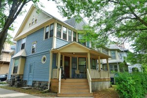 a house we bought in Wauwatosa
