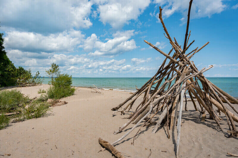 Doctor's Park beach in Wisconsin - things to do in Fox Point, Wisconsin