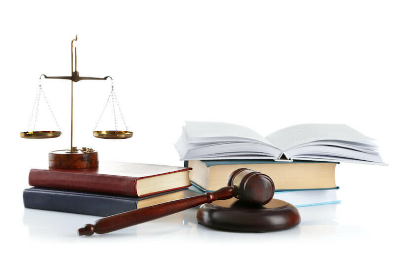 gavel, book, sales of justice - sell a house with a code violation