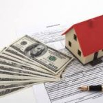 Image of cash small home and forms
