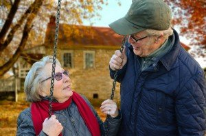 Austin Texas Direct Home Buyers Senior Couple Enjoying Conversation