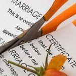 Selling Your House While Divorcing in | cutting marriage certificate