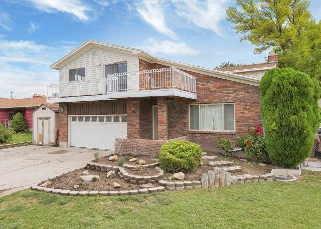 Front of home with seller financing in Murray UT