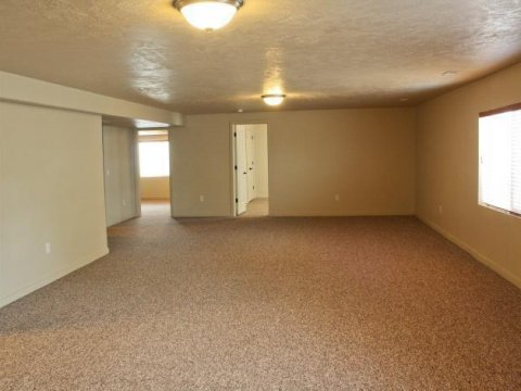 Basement of home in South Jordan UT rent to own homes