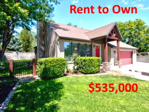 Rent to own home in Taylorsville Utah