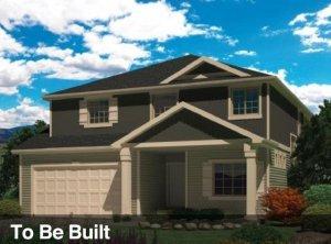 Avon floor plan in West Creekside Estates