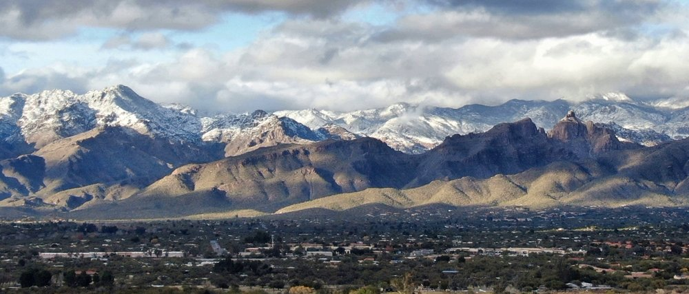tucson winter snow