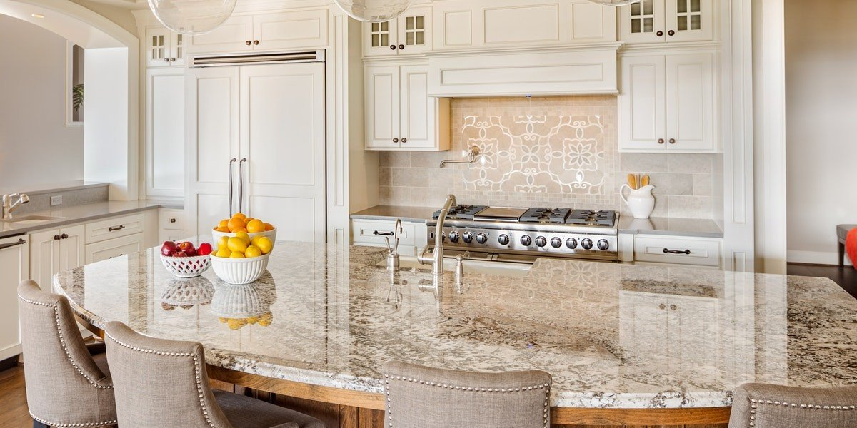Sell a Fix and Flip House | granite kitchen island