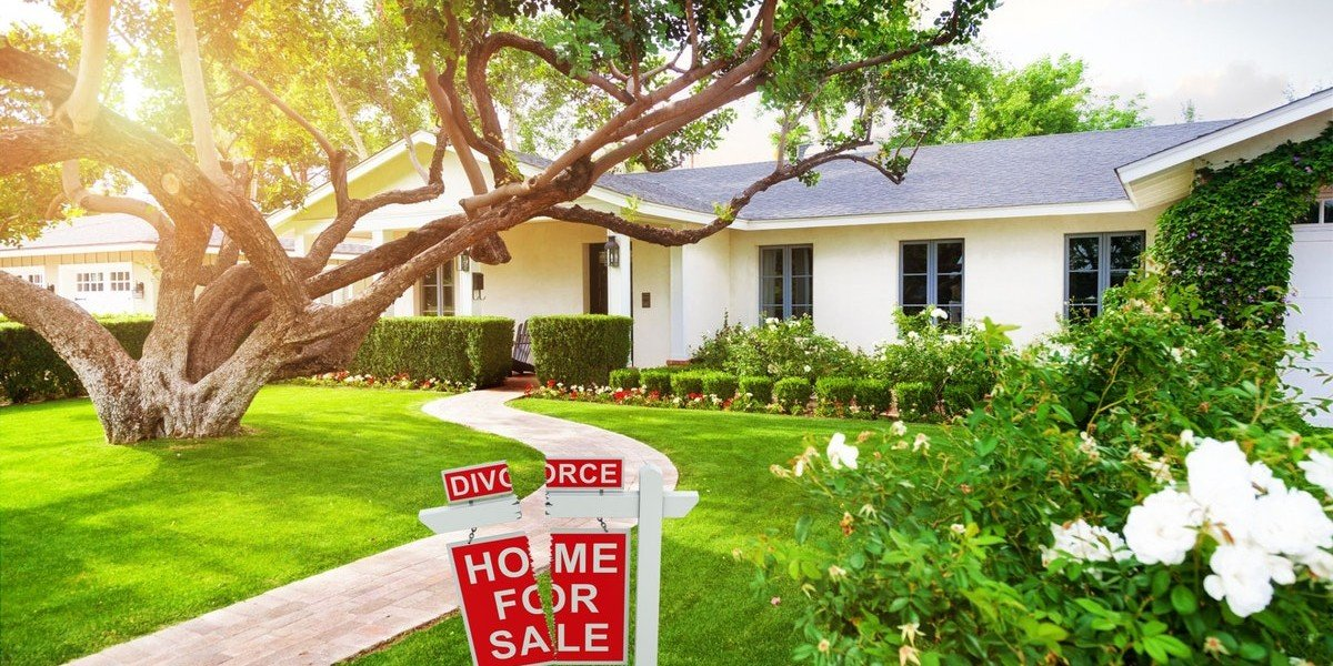 Sell Your House Quickly In A Divorce | for sale sign