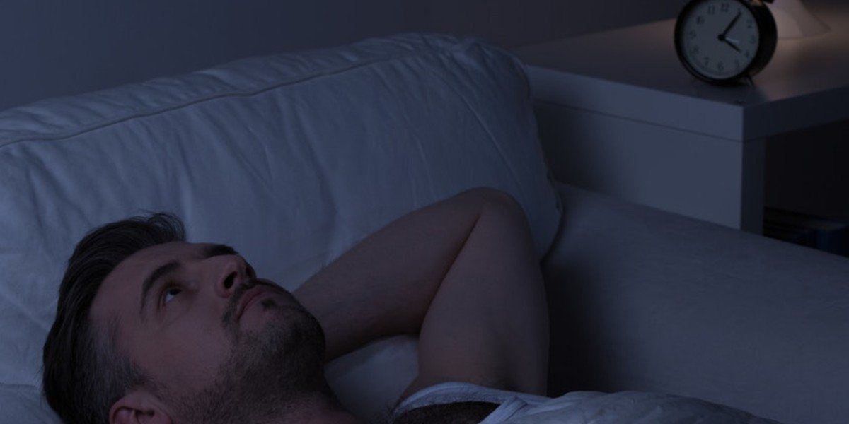 house selling   man can't sleep